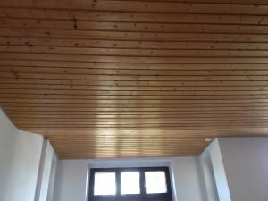 Holzdecke Arbeitsschritt 1