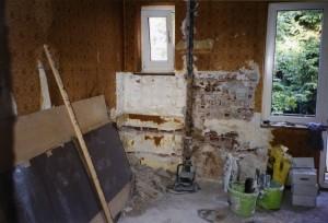 Wohnraumsanierung vorher